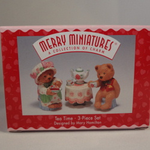 1997 Tea Time-Mary'S Bears - Set Of 3