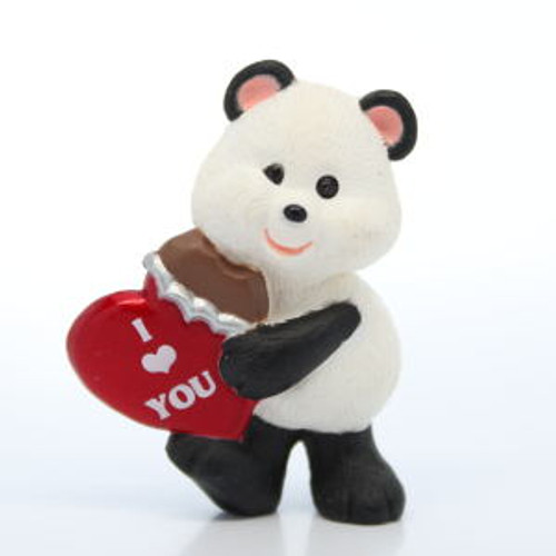 1993 Panda With Chocolate