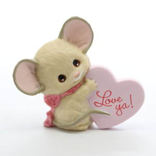 1987 Mouse With Pink Heart