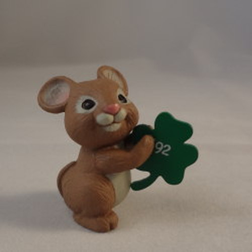 1992 Mouse With Shamrock