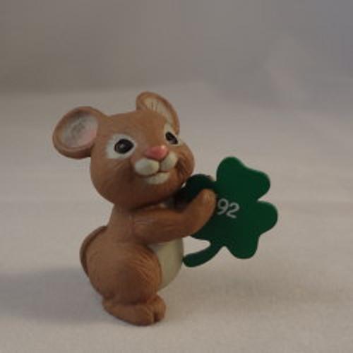 1992 Mouse With Shamrock