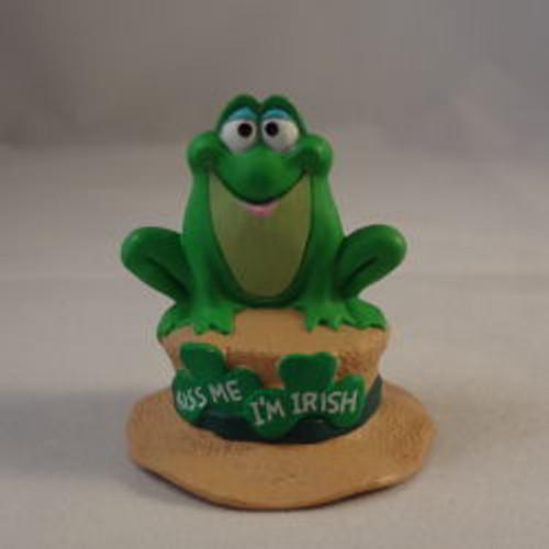 1991 Irish Frog On Hat