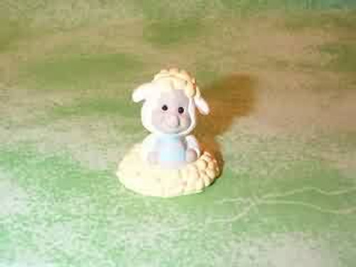 1994 Lamb In Flowers