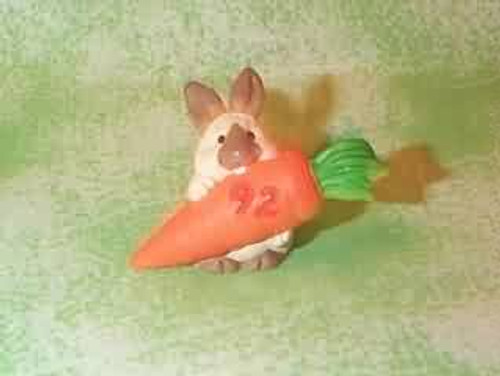 1992 Bunny And Carrot