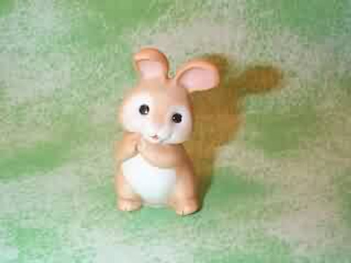 1990 Ceramic Girl Bunny