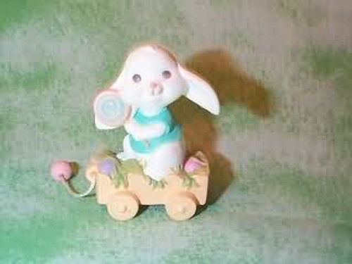 1989 Bunny With Wagon