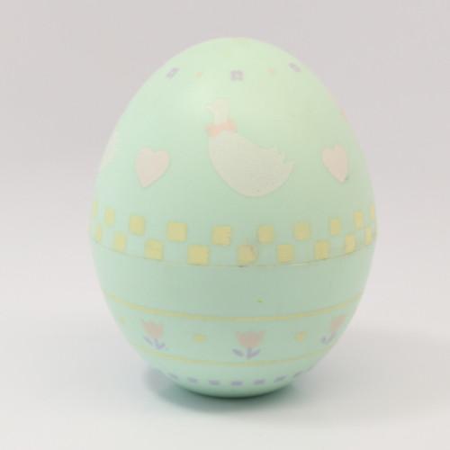 1986 Egg - Goose - Aqua
