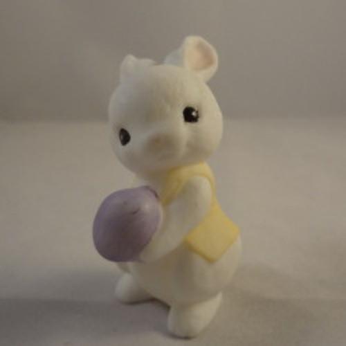 1985 Ceramic Bunny With Vest