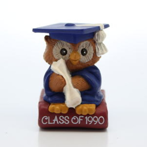 1990 Mini Graduate Owl - Book