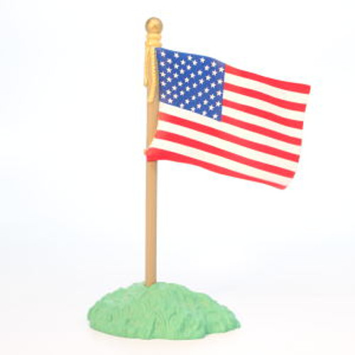 1994 American Flag On Stand