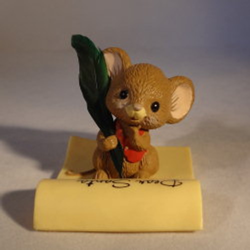1982 Mouse With Letter