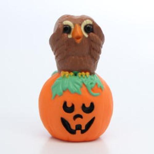 1993 Owl And Pumpkin