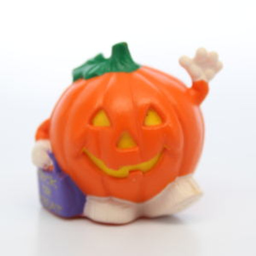 1992 Trick Or Treat Pumpkin