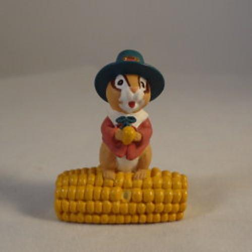 1995 Chipmunk With Corn