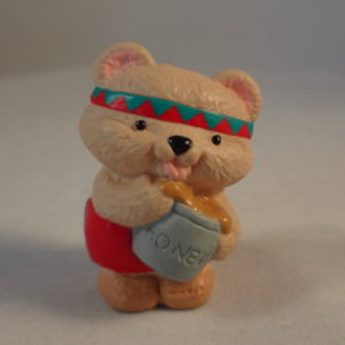 1993 Indian Bear With Honey