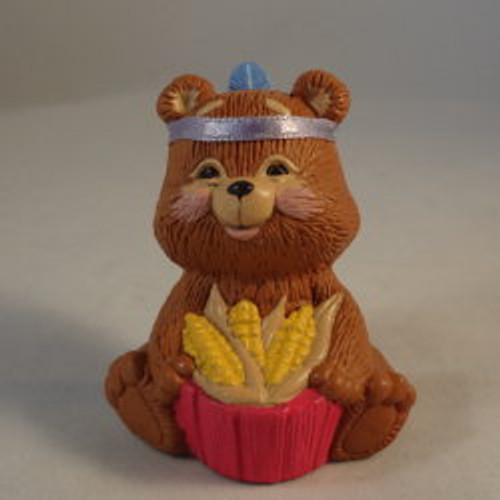 1988 Indian Bear With Corn