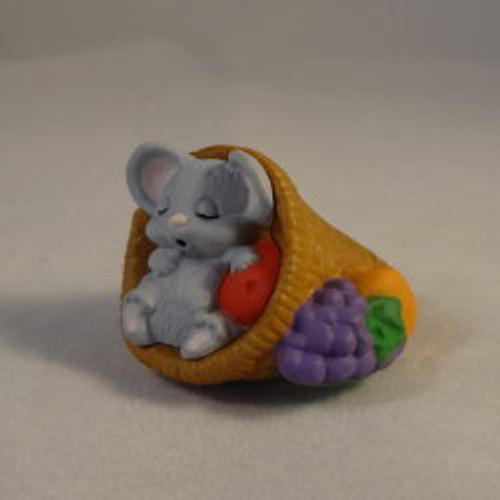 1988 Mouse In Cornucopia