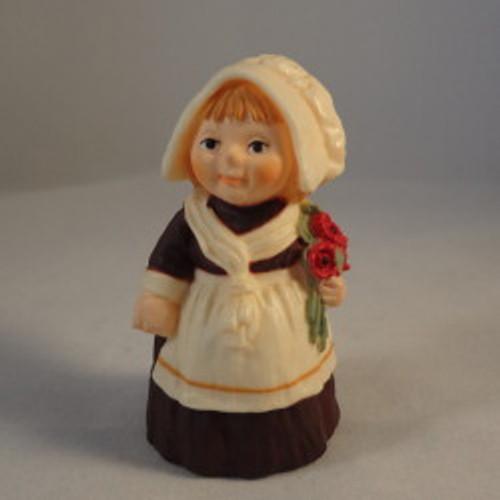 1978 Pilgrim Girl With Flowers