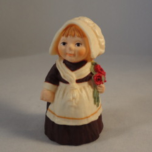 1978 Pilgrim Girl With Flowers