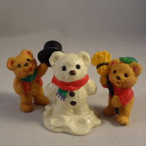 1997 Snowbear Season - Set Of 3