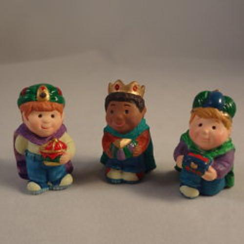 1997 Three Wee Kings - Set Of 3