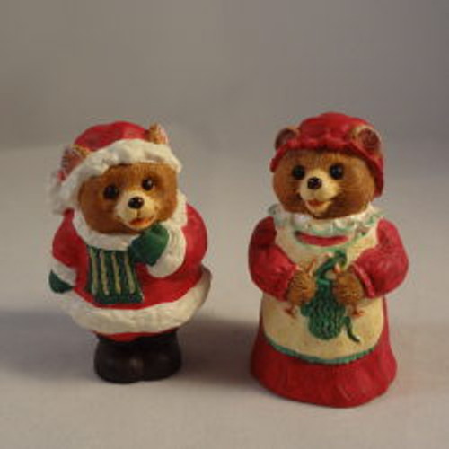 1996 Mr And Mrs Claus Bears