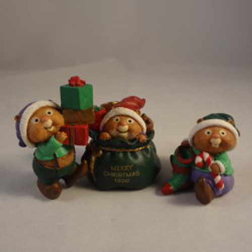 1996 Santa'S Helpers - Set Of 3