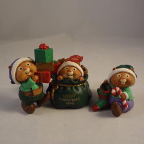 1996 Santa'S Helpers - Set Of 3