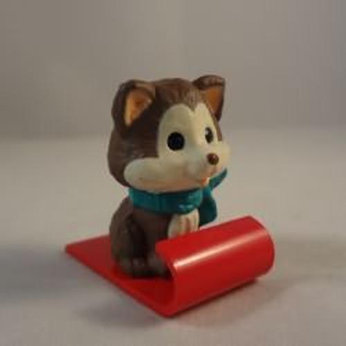 1993 Husky Puppy On Sled