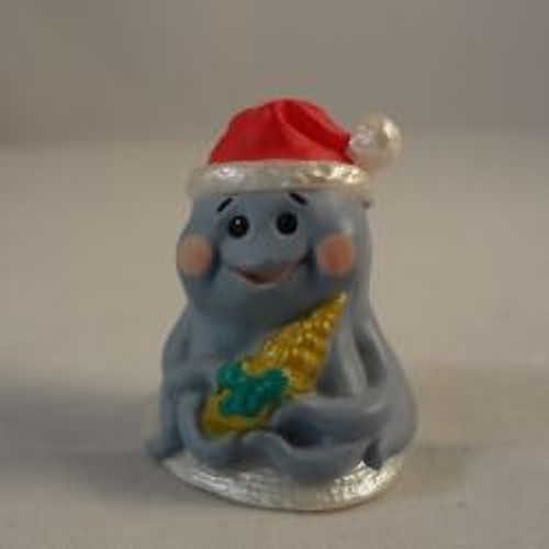 1992 Octopus With Santa Hat