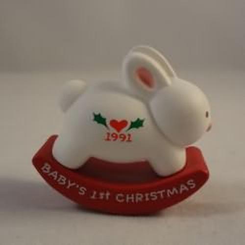 1991 Baby'S 1St Christmas