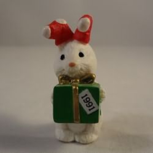 1991 Bunny With Gift