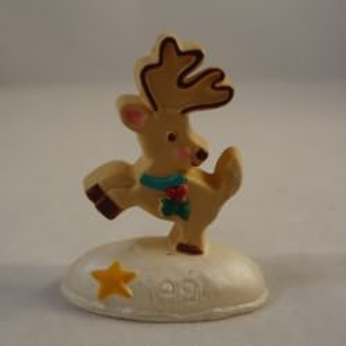 1991 Cookie Reindeer