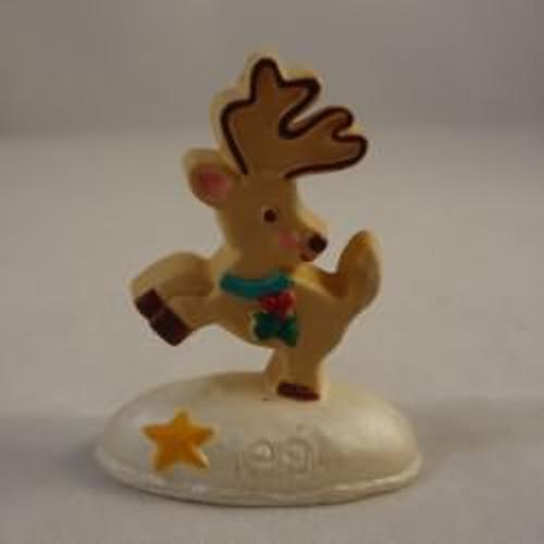 1991 Cookie Reindeer