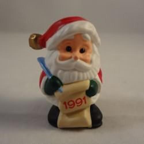 1991 Jingle Bell Santa - 2Nd
