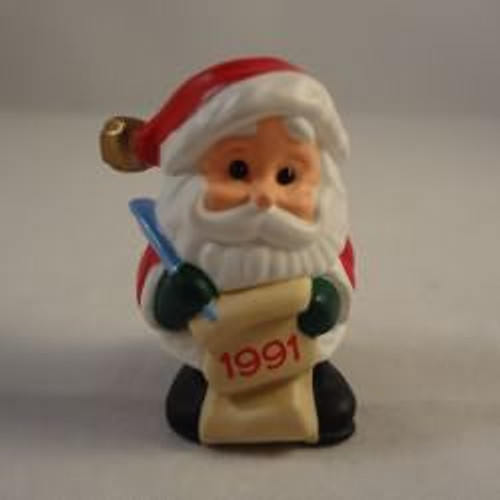1991 Jingle Bell Santa - 2Nd