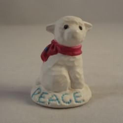 1991 Snow Lamb Peace