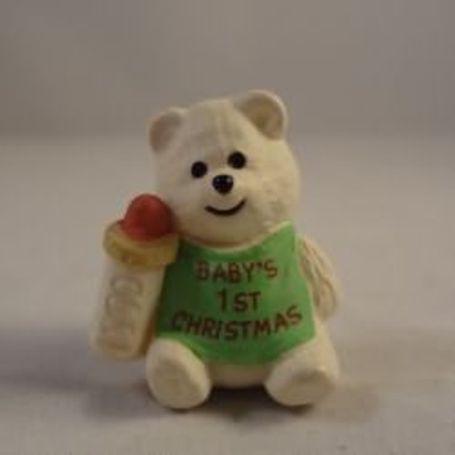 1990 Baby'S 1St Christmas - Bear