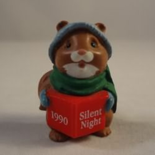 1990 Squirrel Caroler