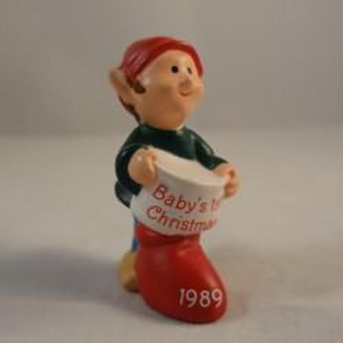 1989 Baby'S 1St Christmas - Elf