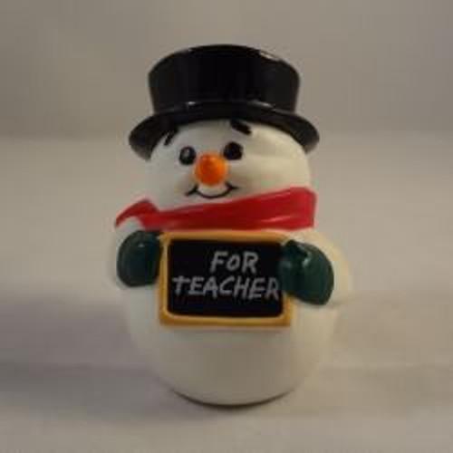 1988 Snowman Teacher