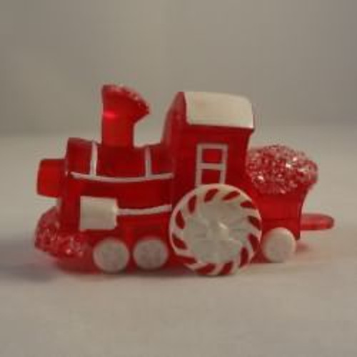 1988 Train Engine Red