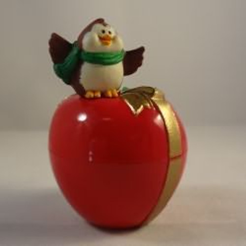 1987 Apple Owl Container