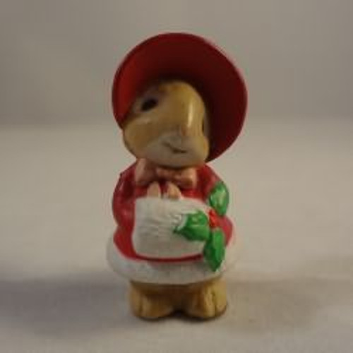 1987 Bunny Girl With Muff