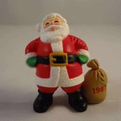 1987 Santa With Dated Bag