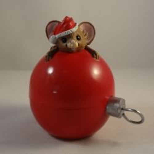 1986 Mouse Ornament Container