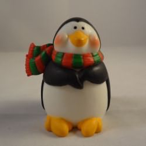 1986 Penguin With Scarf
