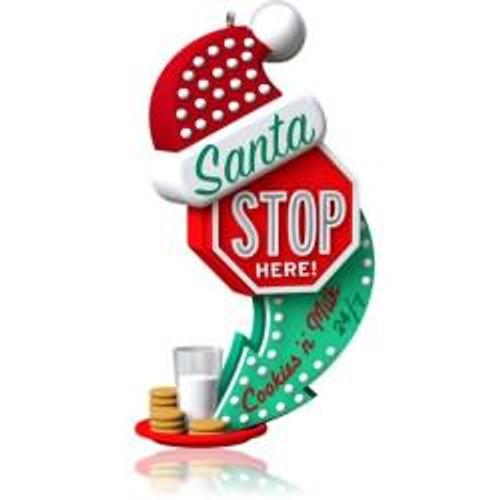 2014 Santa Stop Here