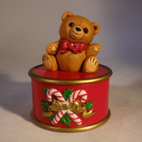 1982 Teddy Bear Container