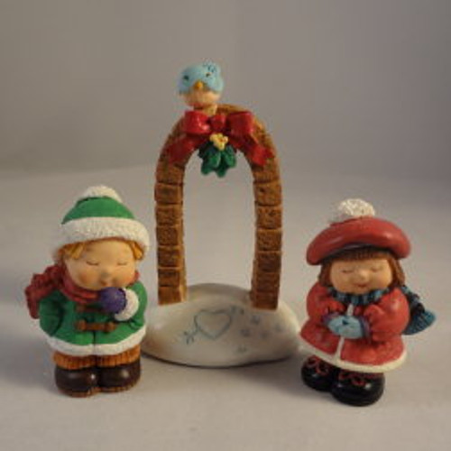 1996 Bashful Mistletoe - Set Of 3